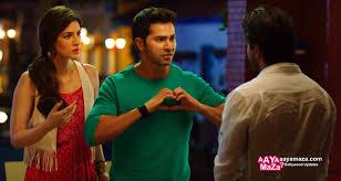 Dilwale Movie Still – Varun Dhawan Kriti Sanon – Aaya Maza
