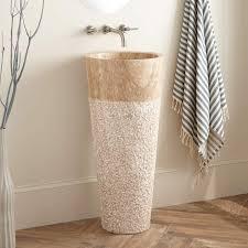 Pedestal Sink Mounting Bracket by Winchester Beige Travertine Pedestal Sink Bathroom