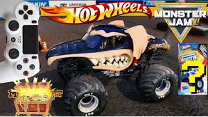MONSTER JAM VIDEO GAME With SURPRISE HOT WHEELS MONSTER TRUCK ... Hot Wheels Custom Motors Power Set Baja Truck Amazoncouk Toys Monster Jam Shark Shop Cars Trucks Race Buy Nitro Hornet 1st Editions 2013 With Extraordinary Youtube Feature The Toy Museum Superman Batmobile Videos For Kids Hot Wheels Monster Jam Exquisit 1 24 1991 Mattel Bigfoot Champions Fat Tracks Mutt Rottweiler 124 New Games Toysrus Amazoncom Grave Digger Rev Tredz Hot_wheels_party_gamejpg