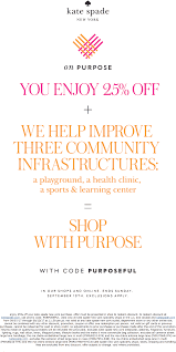 Kate Spade Coupons - 25% Off Today At Kate Spade, Or Online ...