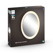 philips hue white ambiance adore led bad spiegel