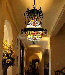 Tiffany Style Lamps Canada by Discount Makenier Vintage Tiffany Style Stained Glass Blue