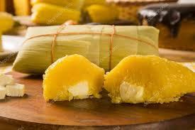 cuisine typique pamonha au fromage cuisine typique de maïs vert savoureux et
