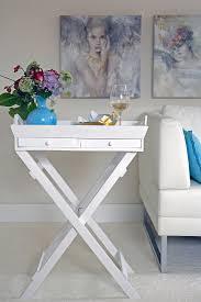 beistelltisch klappbar weiß table tt bild kaufen