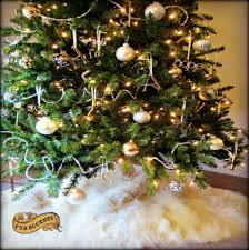 Ebay Christmas Tree Skirts by Round Fur Rug Ebay
