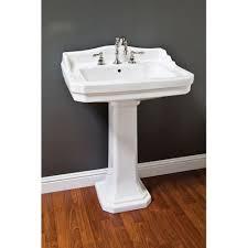 Half Bathroom Ideas With Pedestal Sink by Bathroom Sinks No Finish Ruehlen Supply Company North Carolina