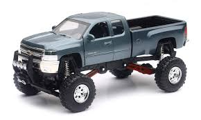100 Truck Suspension Amazoncom New Ray Silverado 2500 Hd Die Cast Chevrolet With