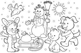 Search Engine Image Winter Coloring Pages For Toddlers Seivo Web 579759 Free 2015