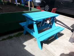 diy 14 kid u0027s picnic table a little something about everything