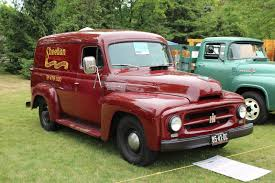 1953 International R-110 Panel Delivery Truck | Http://tatjanaalic14 ... Picking Up The Pieces Of A Classic Truck Wsj 1953 Intertional Pickup Harvester A Series Wikipedia Old Stock Photos No Reserve Wkhorse Trucks For Sale The Linfox R190 Three L Pickup R110 Newer Chassis Acautocruse Patina Man History Bus Company Kampat On Vacation 1955 Rseries