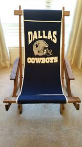 Dallas Cowboys Folding Chair by Dallas Cowboys Wooden Rocker Chair For Sale In Grand Prairie Tx
