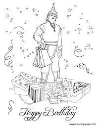 Kristoff From Frozen Movie Colouring Page Coloring Pages