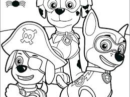 Coloring Pages Paw Patrol For Kids Free New