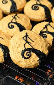 Nightmare Before Christmas Themed Room by The Nightmare Before Christmas Pumpkin Cookies Will Cook For Smiles