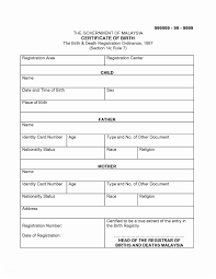 Death Certificate Translation Sample 6 Best Of Marriage Template