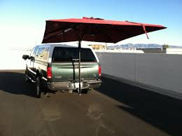 Receiver Hitch Based Awning For Tailgating At Brewers⚾ /Packers ...