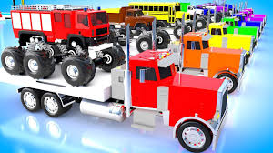 100 Trucks Videos For Kids Edge Truck Pictures Transformer Tow Childrens