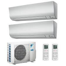 air conditioner dual split daikin perfera 12000 18000btu r32 wifi inverter