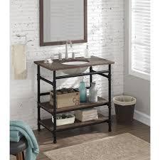 Industrial Bathroom Cabinet Mirror by Fresh Industrial Bathroom Vanity Pipes Creative Maxx Ideas