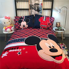 Queen Size Minnie Mouse Bedding by Online Get Cheap Mickey Mouse Comforter Set Aliexpress Com