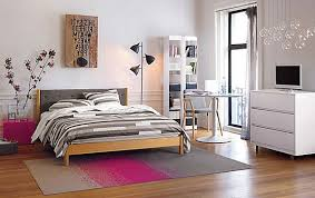 teenage bedroom ideas ikea pink zebra bed sheet cover light wood
