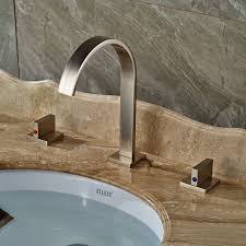 Glacier Bay Faucet Leaking From Neck by Rozin Brushed Nickel Widespread 3pcs Bathroom Sink Faucet Double