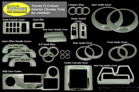 Putco 409001 Chrome Interior Trim Accessory Kit Fits 07-14 FJ ... Putco Pop Up Truck Bed Rails Fast Facts Youtube Luminix Led Light Bar Accsories Shipping Complete 2014 Catalog By Issuu Boss Shadow Grille Inserts Free Form Fitted Mud Skins Putco Texas Tops Representing At The Amazing Femcity Chrome Trim Lighting Car And Blade Tailgate Fender Stainless Led Best 2017