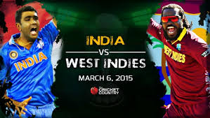 India V West Indies ICC Cricket World Cup 2015 6 Mar