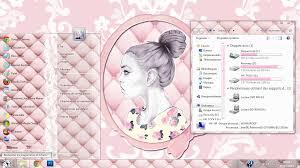 theme bureau windows pink theme for windows 7 by mllebarbie03 on deviantart