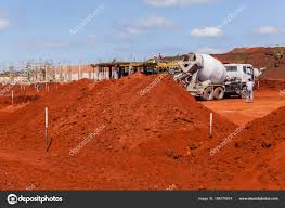 100 Concrete Truck Delivery Construction Site Stock Photo ChrisVanLennepPhoto