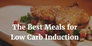 induction cuisine the best low carb induction meal