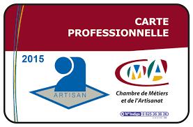 chambre des metier carte artisan 2015 actualités services en ligne accueil