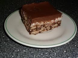schokoladige kokosschnitten