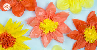 PRINT INSTRUCTIONS Learn How To Make Giant Tissue Paper Flowers You Can Create The In Any
