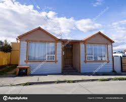 100 Houses In Chile Simple Puerto Natales Stock Photo Jirousekzoofoto