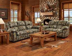 living room camo sofa and loveseat hunting living room furniture