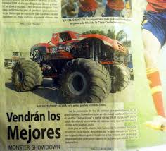 100 Destroyer Monster Truck We Made The Front Page Of Three Major Newspapers In Mexic Flickr