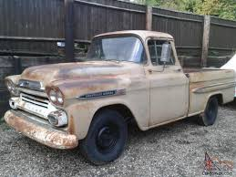 1958 Chevrolet Apache Fleetside Pick Up Truck Rare Big Back Window ... 1958 Chevrolet Apache Stepside Pickup 1959 Streetside Classics The Nations Trusted Cameo F1971 Houston 2015 For Sale Classiccarscom Cc888019 This Chevy Is Rusty On The Outside And Ultramodern 3100 Sale 101522 Mcg 3200 Truck With A Twinturbo Ls1 Engine Swap Depot Editorial Stock Image Of Near Woodland Hills California 91364 Chevrolet Pickup 243px 1 Customer Gallery 1955 To