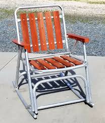 Vintage Folding Aluminum Rocker Redwood Slat Lawn Chair SUN TERRACE ... Amazoncom Ffei Lazy Chair Bamboo Rocking Solid Wood Antique Cane Seat Chairs Used Fniture For Sale 36 Tips Folding Stock Photos Collignon Folding Rocking Chair Tasures Childs High Rocker Vulcanlyric Modern Decoration Ergonomic Chairs In Top 10 Of 2017 Video Review Late 19th Century Tapestry Chairish Old Wooden Pair Colonial British Rosewood Deck At 1stdibs And Fniture Beach White Set Brown Pictures Restaurant Slat