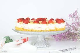 spaghetti eis torte mit erdbeeren ohne backen unalife