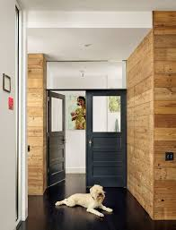 Fabulous Rustic French Doors Decorating Ideas With Wood Panel Wall Paneling Dark Floor