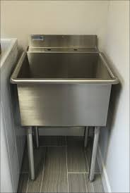 Stainless Steel Utility Sink With Legs by Stainless Laundry Sink Large Size Of Narrow Utility Tub Utility