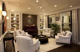 living room living room console modern drawing room interior