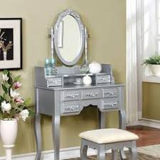 Makeup Vanity Table With Lights And Mirror by Lighted Makeup Vanity Table Set