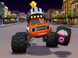 100 Monster Truck App Or Treat First Look Blaze And The Machines Video Clip