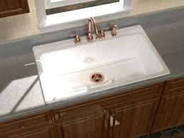 Kitchen Sinks With Drainboard Built In by Self Rimming Kitchen Sinks U2013 Intunition Com