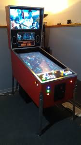 Build Arcade Cabinet With Pc by Pinkadia Pinball Mame And Pc Games In A Combined Pinball And