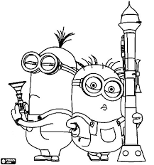 Lofty Despicable Me Coloring Pages For Kidsprintablecoloring