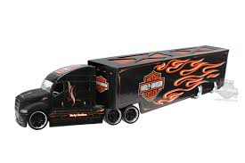 MA-11516-01 - Harley-Davidson® H-D Haulers B&S Flames With ... Amazoncom Wwe 164 Diecast John Cena Semitruck Toys Games Wyatts Custom Farm Dodge 164th Dcp Freightliner Cabover Custom Youtube Peterbilt 359 Rc 14 And Real Truck Show Piston 20122mp4 Chevygmc Tonka Trailer Boomlog Beautiful Ebay Grain Trucks Rockin H Dcp Action Ertl Deere With Scale Semi Truck Show 2017 Big Pictures Of Nice And Trailers Napa Auto Parts Sturgis Three Rivers Michigan