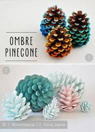 Pine Cone Christmas Tree Ornaments Crafts by Best 25 Painted Pinecones Ideas On Pinterest Painting Pine